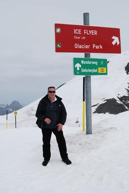 Photo of Zurich Mount Titlis Day Tour from Zurich Me on the way to the Ice Flyer