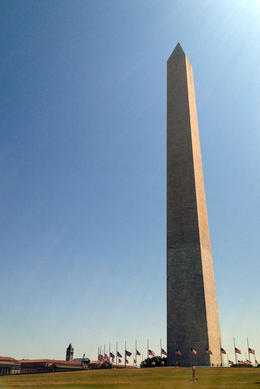 Washington Monument, Jules & Brock - August 2012