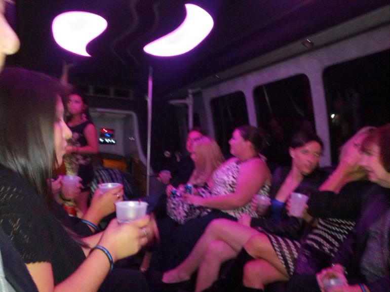 On the Party Limo Bus - Las Vegas