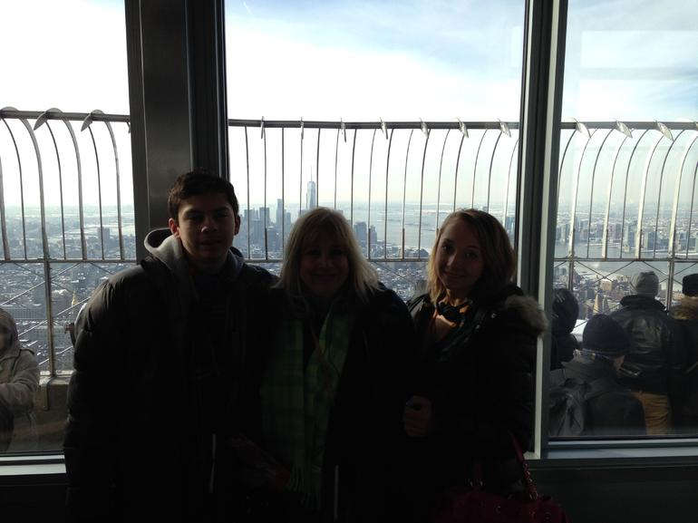 On Top of the Empire State Building - New York City