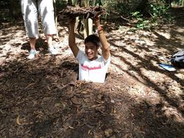 Photo of Ho Chi Minh City Cu Chi Tunnels Small Group Adventure Tour from Ho Chi Minh City our guide Dang