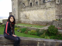 At Stirling Castle , R K - September 2012