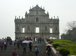Photo of Hong Kong Macau Day Trip from Hong Kong Ruins of St Paul's Church Macau 2011