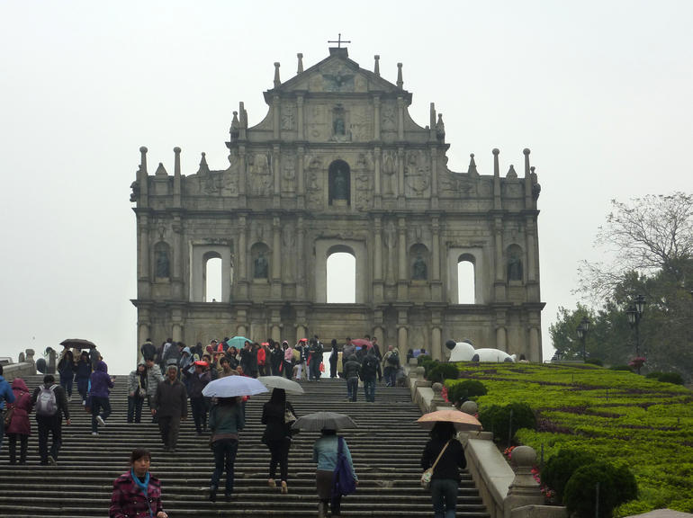 Ruins of St Paul's Church Macau 2011 - Hong Kong