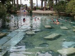 Photo of Kusadasi Small-Group Pamukkale Day Trip from Kusadasi: Travertines and Hierapolis The Hierapolis Pool