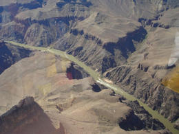 Looking down at the Colorado River. Hard to believe this is what created the Grand Canyon, World Traveler - June 2011