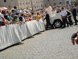 Photo of Rome Papal Audience Ticket at Vatican City The Pope