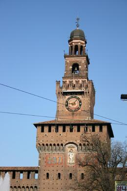 Photo of Milan Milan Half-Day Sightseeing Tour with da Vinci's 'The Last Supper' Tower of the Castello Sforzesco