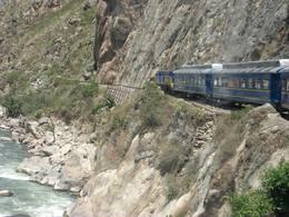 Photo of Cusco Machu Picchu Day Trip from Cusco Train Going through Mountains