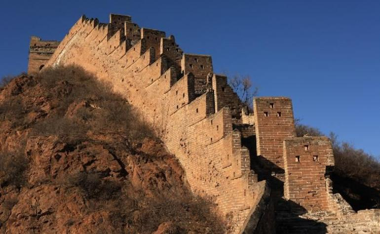 Undisturbed parts of the wall - Beijing