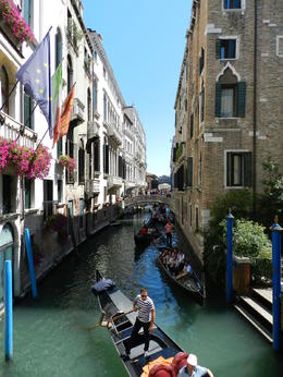 Venice is a picturesque surprise around every corner , Italy 2014 - July 2014