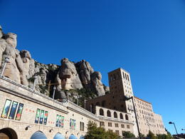 Photo of Barcelona Barcelona Super Saver: Montserrat Day Trip and Barcelona Gaudi Tour View of Monserrat