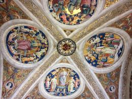 This is the ceiling in one of the Chapels in the Vatican Museum. We were fascinated by the intricate details of the art work. Every inch seemed to be considered with great thought. It truly was ... , frankandvita - September 2014