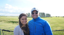 Brooke and Rocky at Stonehenge. , william a - May 2015