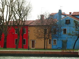 Photo of Venice Murano, Burano and Torcello Half-Day Sightseeing Tour Burano sous la pluie