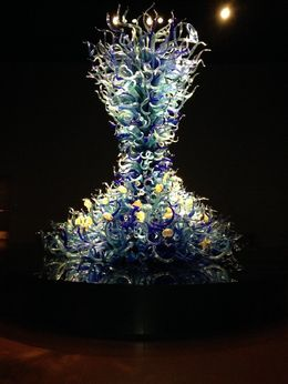First thing you see when you walk into the Chihuly exhibit. , AM - February 2016