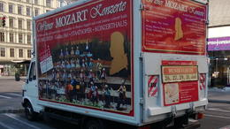 This concert is promoted all over Vienna - on vehicles and on the street through costumed pitch-men who will sign you up. I'm really glad we booked through Viator - allowed us to say and quot;We..., Sherm - August 2013