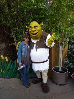 Never too old to meet Shreck!, Michelle V - January 2010