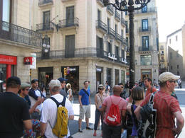 Photo of Barcelona Barcelona Half-Day Bike Tour Meeting Point