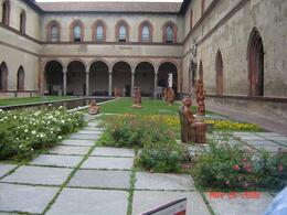 Museum inside the Castello Sforzesco., Nabarun N - June 2008