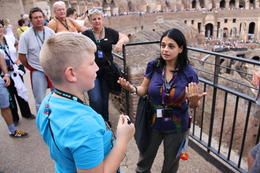 Photo of Rome Skip the Line: Ancient Rome and Colosseum Half-Day Walking Tour onze gids