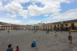 One of the main plazas in Quito, Bandit - October 2013
