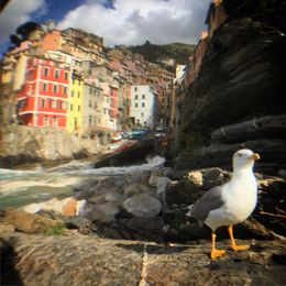 The 1h stop in Riomaggiore led to some funny photos... , Tiffany L - October 2015