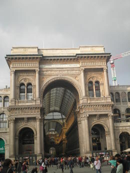 Photo of Milan Milan Half-Day Sightseeing Tour with da Vinci's 'The Last Supper' The entrance to the Galleria.