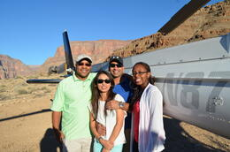 Photo of Las Vegas Viator VIP: Grand Canyon Sunset Helicopter Tour with Dinner The Group