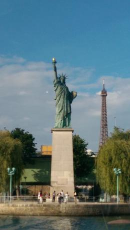 Photo of Paris La Marina de Paris Seine River Cruise Including 3-Course Lunch or Dinner The Statue of Liberty