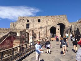 Photo of Rome Pompeii and Amalfi Coast Small Group Day Trip from Rome The tour of Pompeii starts