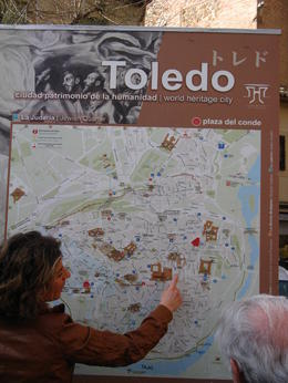 Our guide shared many interesting facts about Toledo , Judi - May 2011