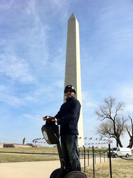Photo of Washington DC Washington DC Segway Tour Washington Monument  and  Rob.