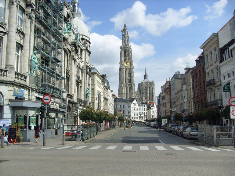 Antwerp Church - Brussels