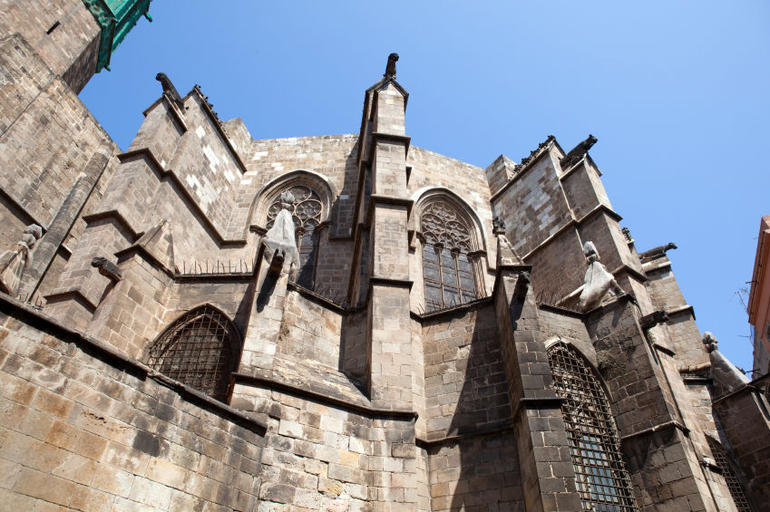 Cathedral at Barri Gotic - Barcelona