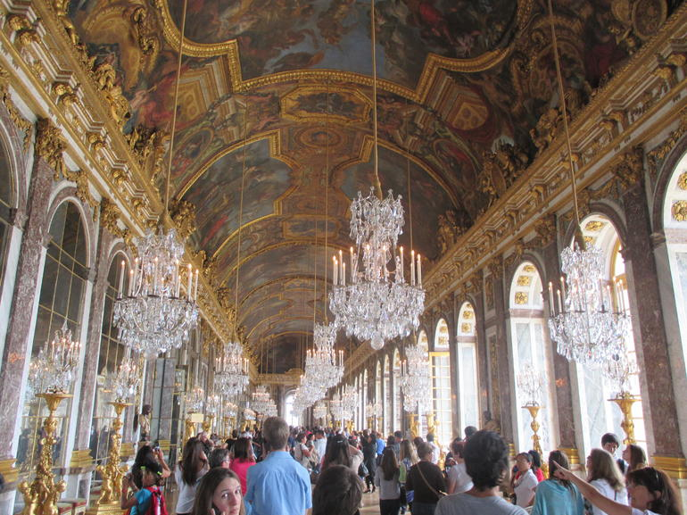Hall of Mirrors was very cool - Paris