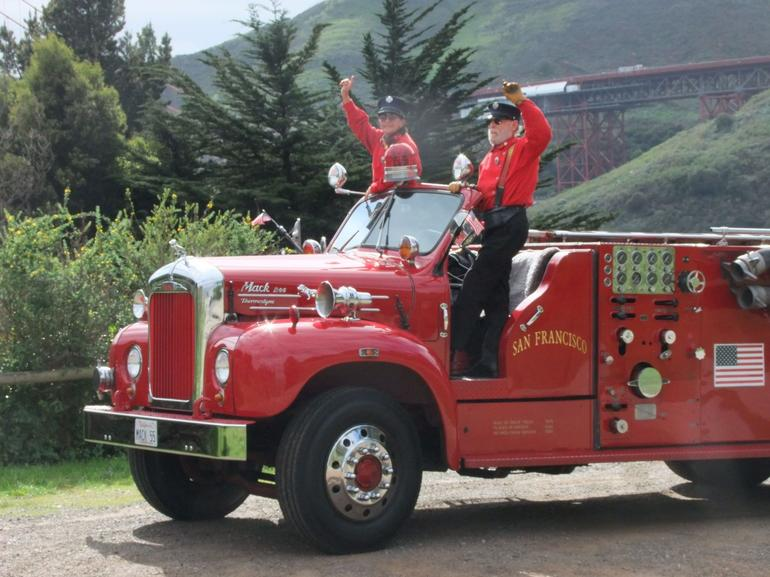 Mack Fire Engine - San Francisco