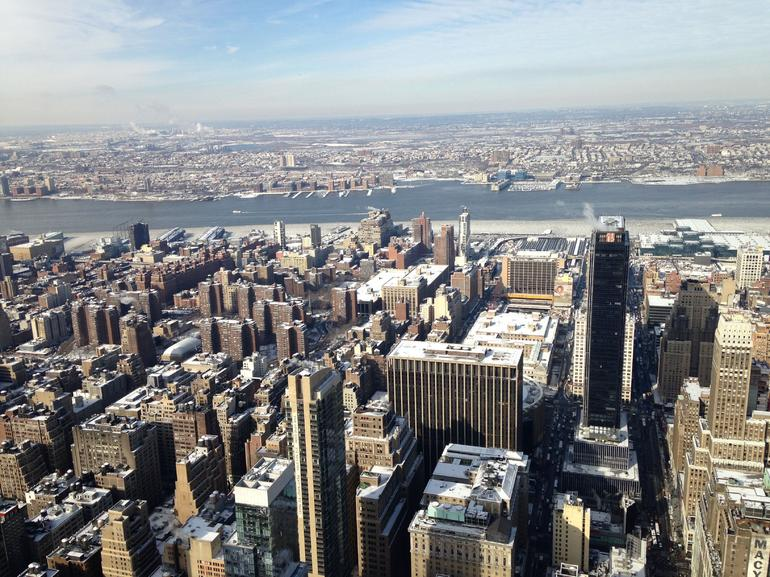 Manhattan from the Empire State Building - New York City