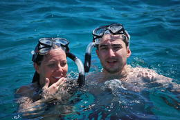 Photo of Puerto Plata Bay of Sosua Catamaran Cruise and Snorkeling Mom and dad's gift to us: a catamaran cruise on Sosua Bay, Puerto Plata