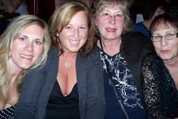 Bhari, Brenda, Heather and Betty at Donny and Marie Show having a blast of a time!, Brenda M - November 2009