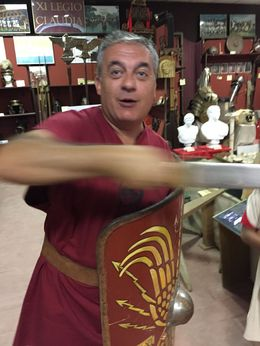 The owner ? gave a very good description of Roman army techniques. , Richard B - September 2015