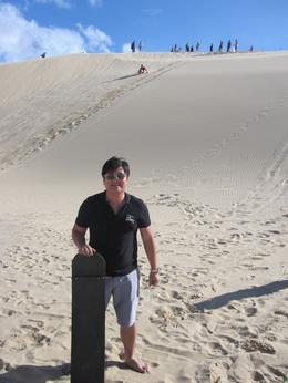Photo of Sydney Port Stephens Day Trip with Dolphin Watching, Sandboarding and Australian Wildlife Sand Boarding