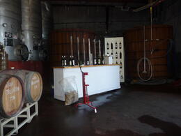 Photo of San Francisco Semi-Private Boutique Wine Country Tour with Personal Wine Blending The bottling station