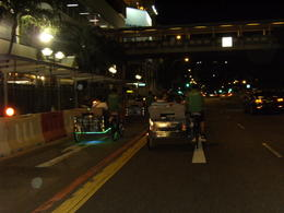 Photo of Singapore Singapore's Chinatown Trishaw Night Tour Trixshaw ride through the major roads of Singapore.
