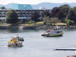 Lots of activity in the Harbour with ships, water taxis and even seaplanes landing. , John C - August 2011