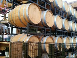Winery with wine tasting during on stop of Hop-on-Hop-off Tour. , Wickster - May 2016