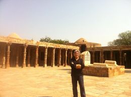 Photo of   At Qutub Minar Complex