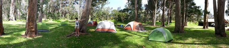 Camping - Big Island of Hawaii