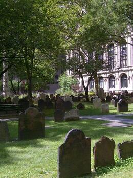 Photo of   Cemetery in the city