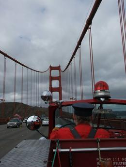 Photo of San Francisco San Francisco Fire Engine Tour Crossing the Golden Gate bridge